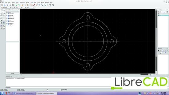 librecad 10 useful Free alternative to AutoCAD