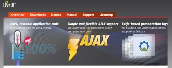 Live UI - open source RIA framework for ASP.NET