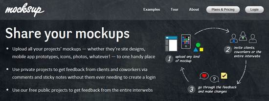 mocksup- prototyping tool