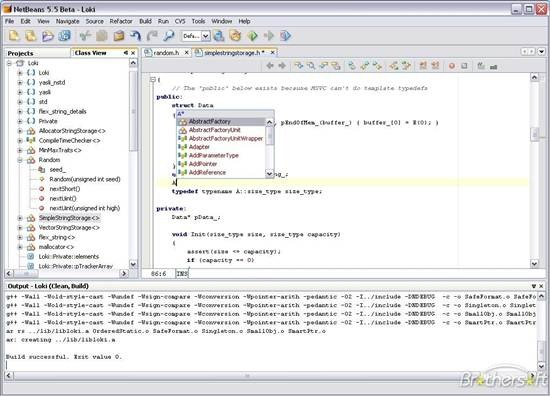 NetBeans - open source IDE