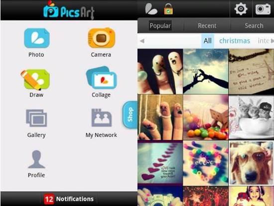 New picsart editing app