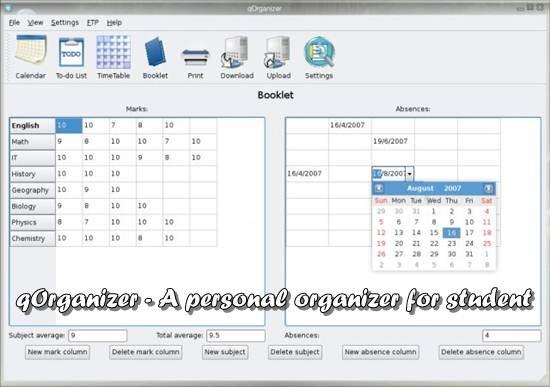 qOrganizer