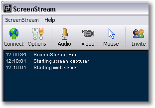 ScreenStream 6 useful Desktop Screen Sharing tool for Windows, Mac and Linux