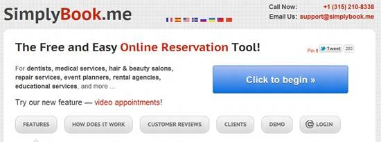 simplybook-me Top 16 online appointment scheduling software