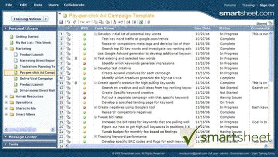 Smartsheet Web Based Work Management And Crowdsourcing