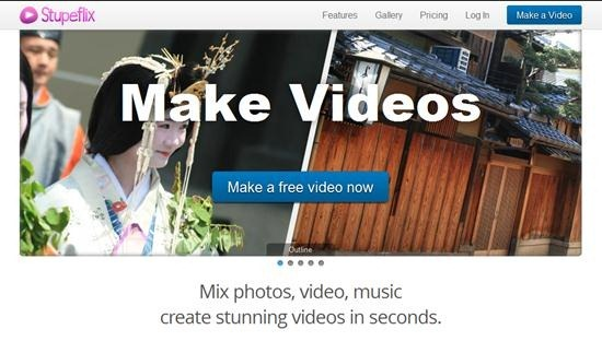 stupeflix online video editing software