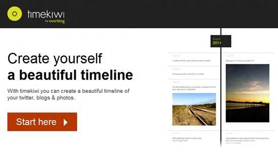 timekiwi timeline 6 best online digital timeline creator
