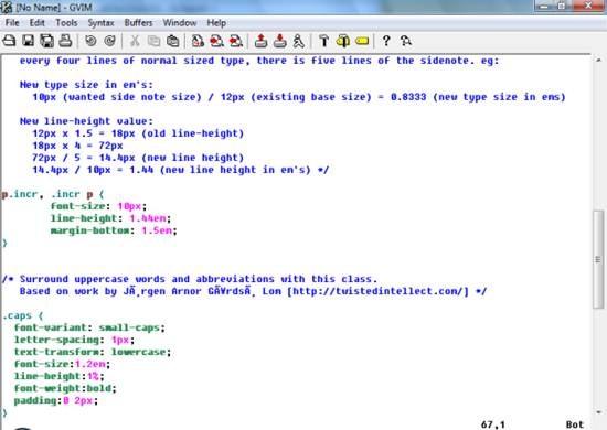 Vim - Multi-platform advanced text editor
