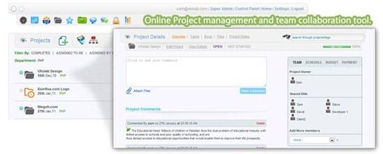 vkolab Online Project management