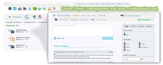 vkolab Online Project management
