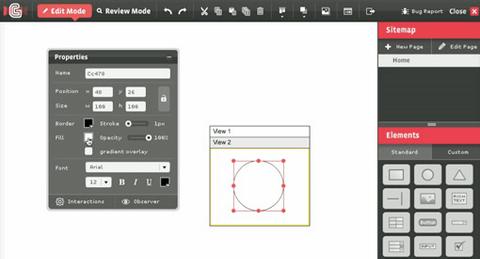 HotGloo 15 useful wireframing, prototyping and Mockups tools