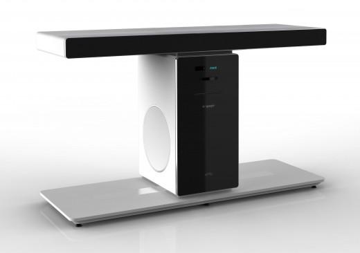 engage unity home cinema minimalist and simple set up. Black Bedroom Furniture Sets. Home Design Ideas