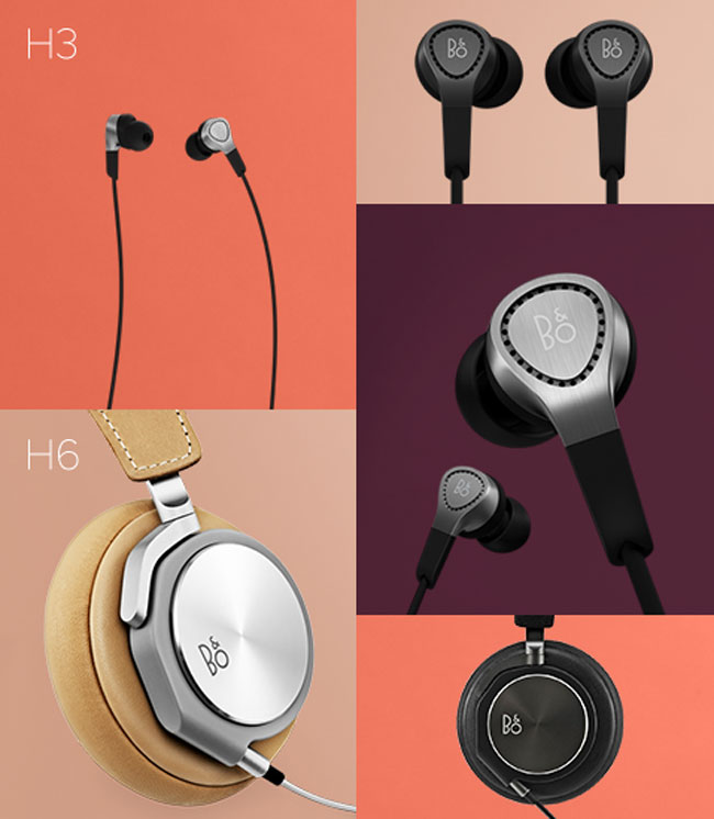 bang and olufsen announce new beoplay h3 and h6 headphones gadgetynews. Black Bedroom Furniture Sets. Home Design Ideas