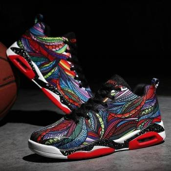 5c4a0494477b8716b3402f67 6 larg Men/ Women Air Cushion Basketball Shoes Running Tennis Shoes Fashion Sneaker