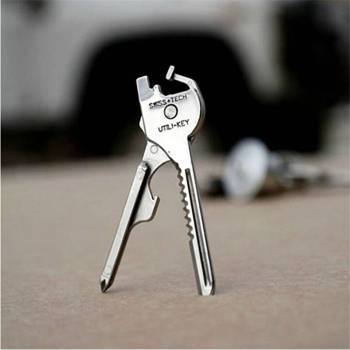 Stainless Utili Key 6 in 1 Keychain  Multi-Tool