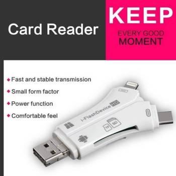 5b8e4ec429cf693e7784ea76 16 larg iPhone/Micro Usb/USB Type-c/USB SD Card Reader