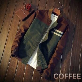 5bbef605606c1316d543f1f9 2 larg New Autumn Fashion Men Casual Slim Fit Zipper Jacket