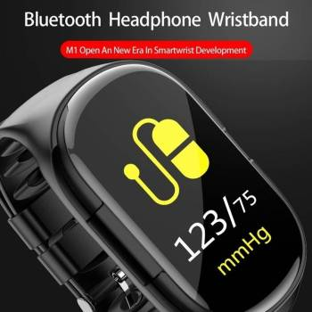5dbbc62065999b09ed22860b 8 larg 2 in 1 Sports  Smart Watch with Earbud IOS + Android