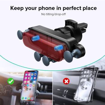 H71dbf2b8d02f4779a5b6659c72d550bbI Gravity Car Holder For Phon GPS Stand For iPhone XS MAX Xiaomi