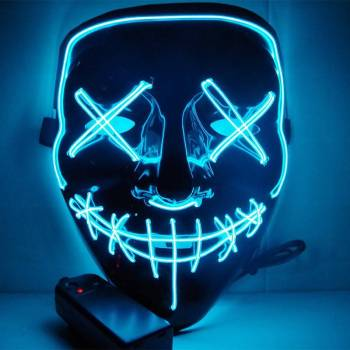 Halloween Party Led Mask  – Super Cool  Halloween Accessories
