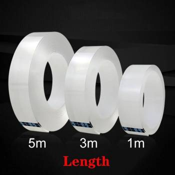 HTB1H9GlXAL0gK0jSZFAq6AA9pXaz Nano Transparent Tape -  Waterproof Adhesive Tape