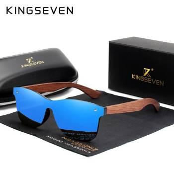 Polarized  Wooden Sunglasses For Men - Original Wood Oculos