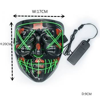 HTB1RvTSaUY1gK0jSZFCq6AwqXXan Halloween Party Led Mask  - Super Cool  Halloween Accessories