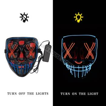 HTB1d6nRaNv1gK0jSZFFq6z0sXXav Halloween Party Led Mask  - Super Cool  Halloween Accessories