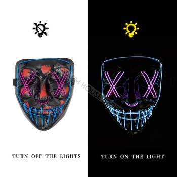 HTB1e YRaQL0gK0jSZFAq6AA9pXaZ Halloween Party Led Mask  - Super Cool  Halloween Accessories