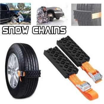 Hbcadac741cfc43488a188d8c7cd7f448V Tyre Traction Strap Emergency Snow Kit