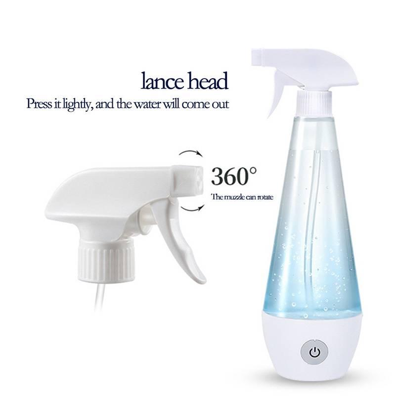 300ml Portable disinfection liquid making machine homemade disinfection spray HOCl Disinfection machine 30M16 (1)