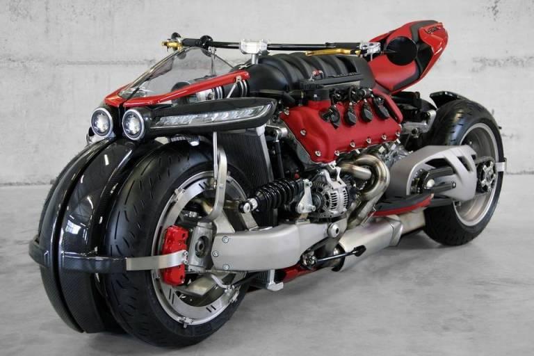 470-HP Lazareth LM 847 Motorcycle With Maserati Engine https://gadkit.com