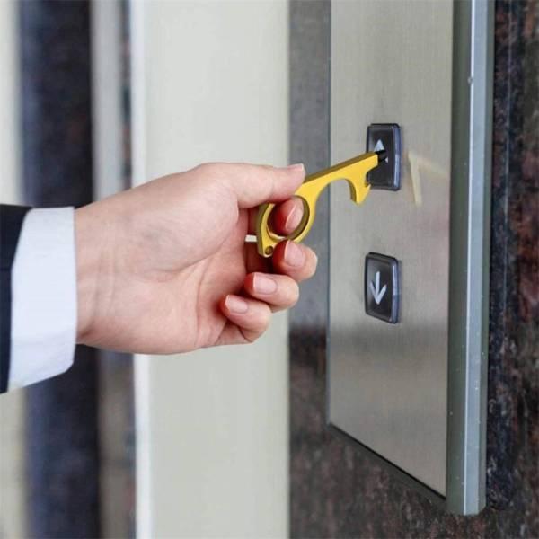 No Touch Handheld Keychain Tool Gadkit