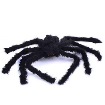 Scarry Black Spider Halloween Decoration Gadkit 2 Scarry Black Spider Halloween Decoration