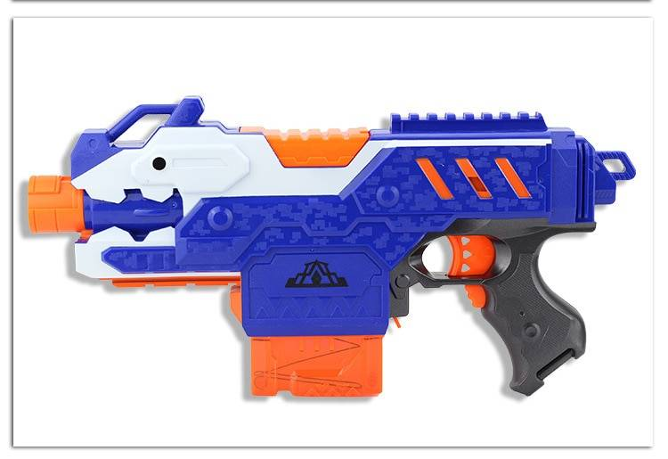 Toy Gun For Nerf Darts Soft Hollow Hole Head Bullets