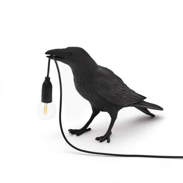 Italian Seletti Bird Wall Lamp Modern LED Wall Sconce Light Fixtures Bedroom Bedside Wall Light Crow bird Stand Light Home Deco
