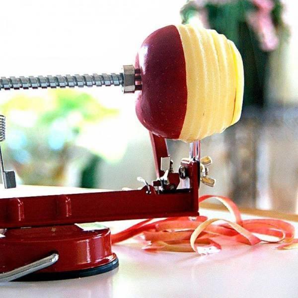 Apple Peeler Slicer and Corer Gadkit