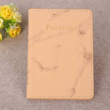 Marble Style Passport Holder Wallet Gadkit 1 Marble Style Passport Holder Wallet