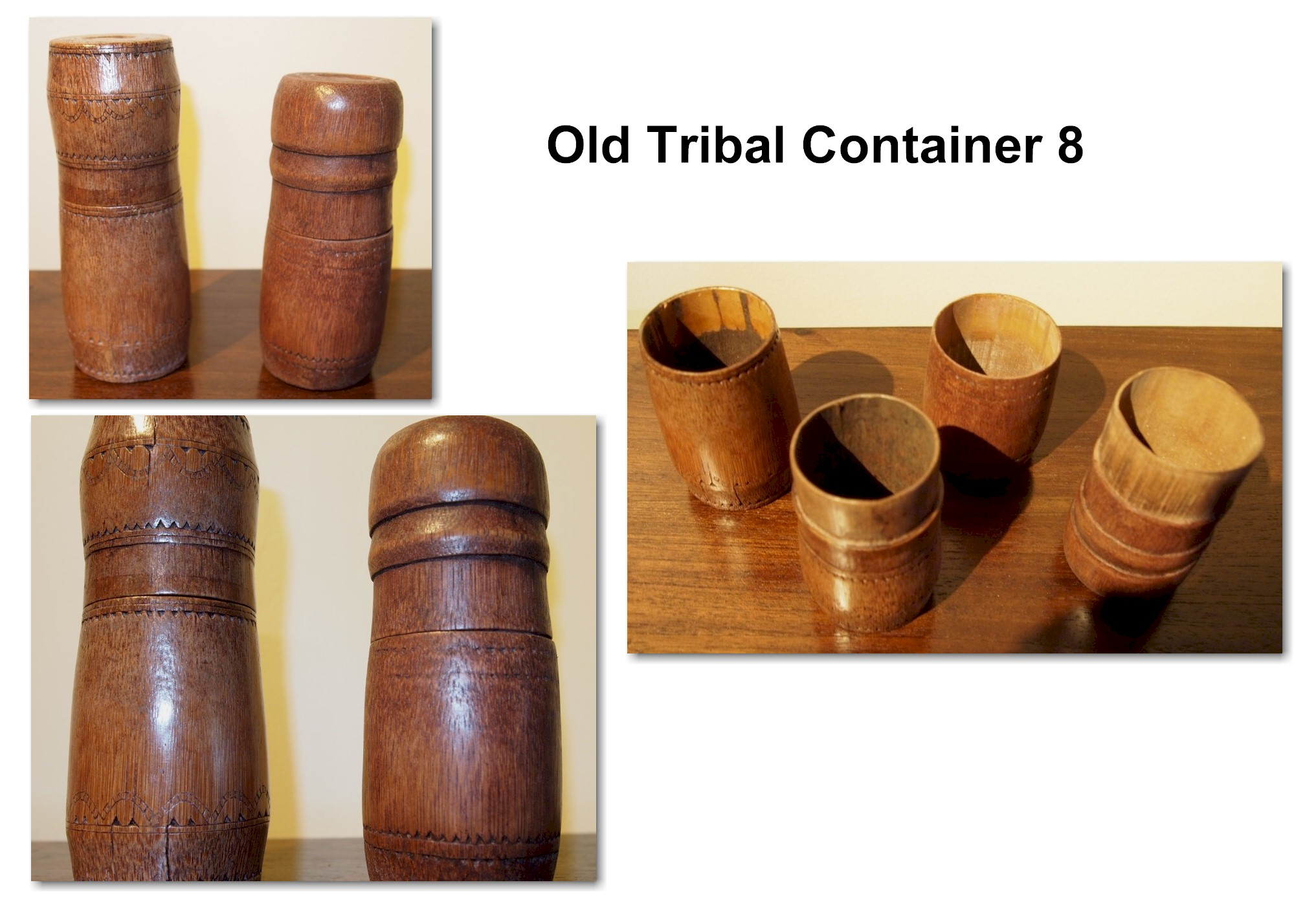 Old Tribal Container 8