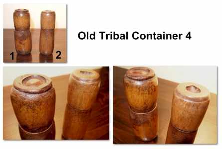 Old Tribal Container 4