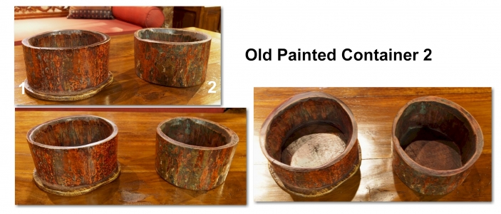 Old Painted Container 2