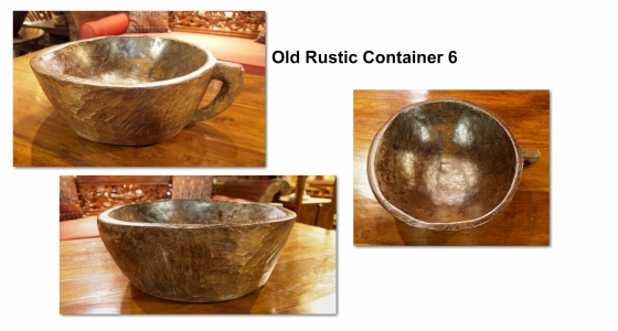 Old Rustic Container 6