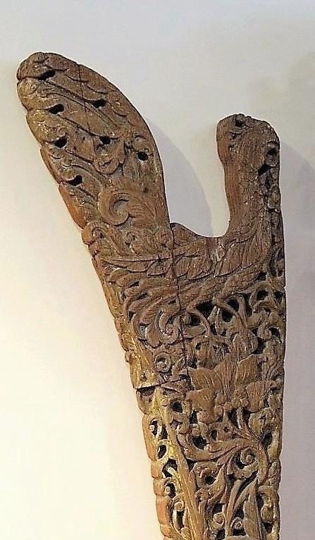 Old Carved Figurehead From Madura Gado Gado