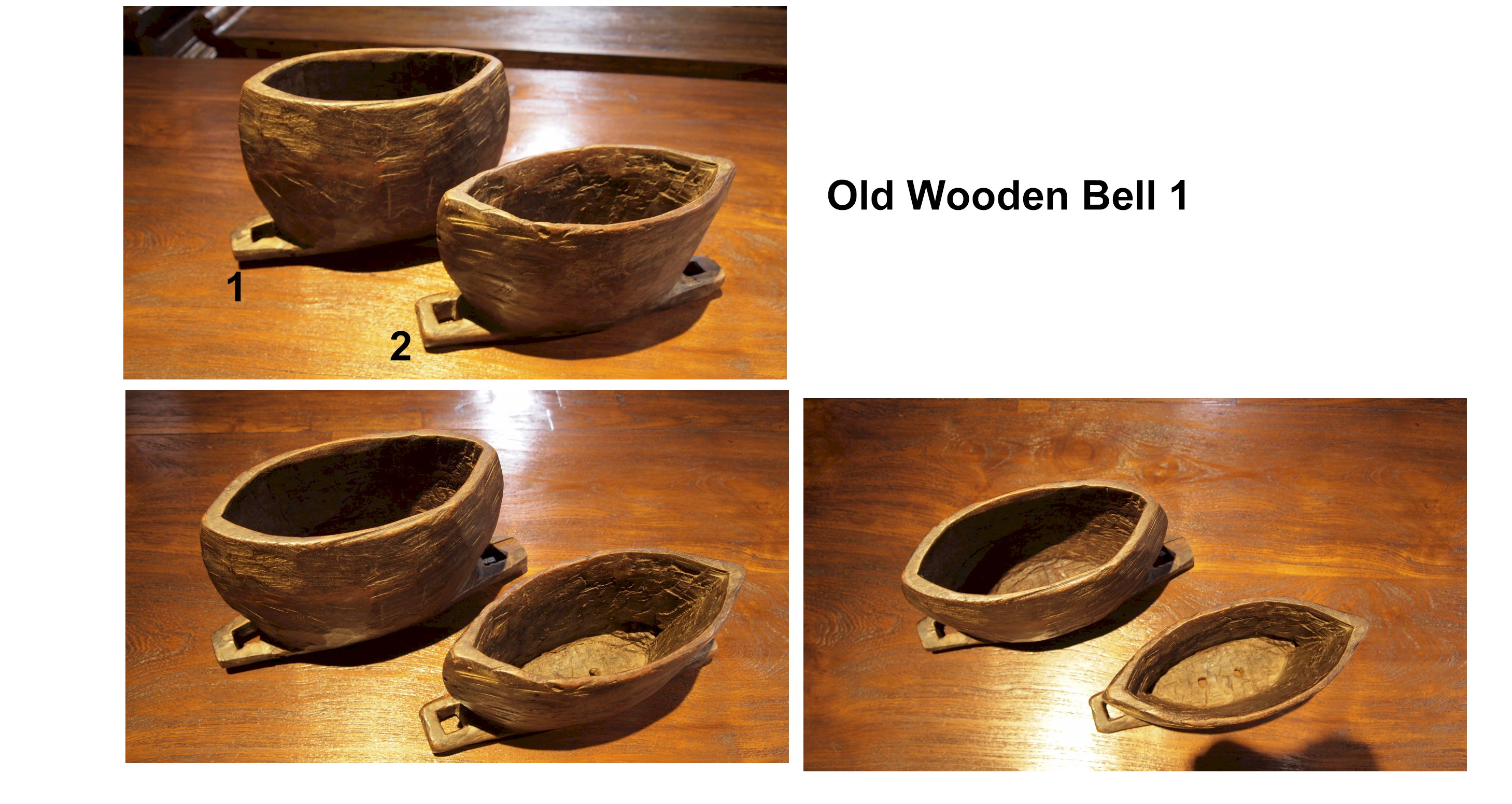 Old Wooden Bell 1