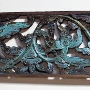 Old Carved Teak Panel from Madura 160
