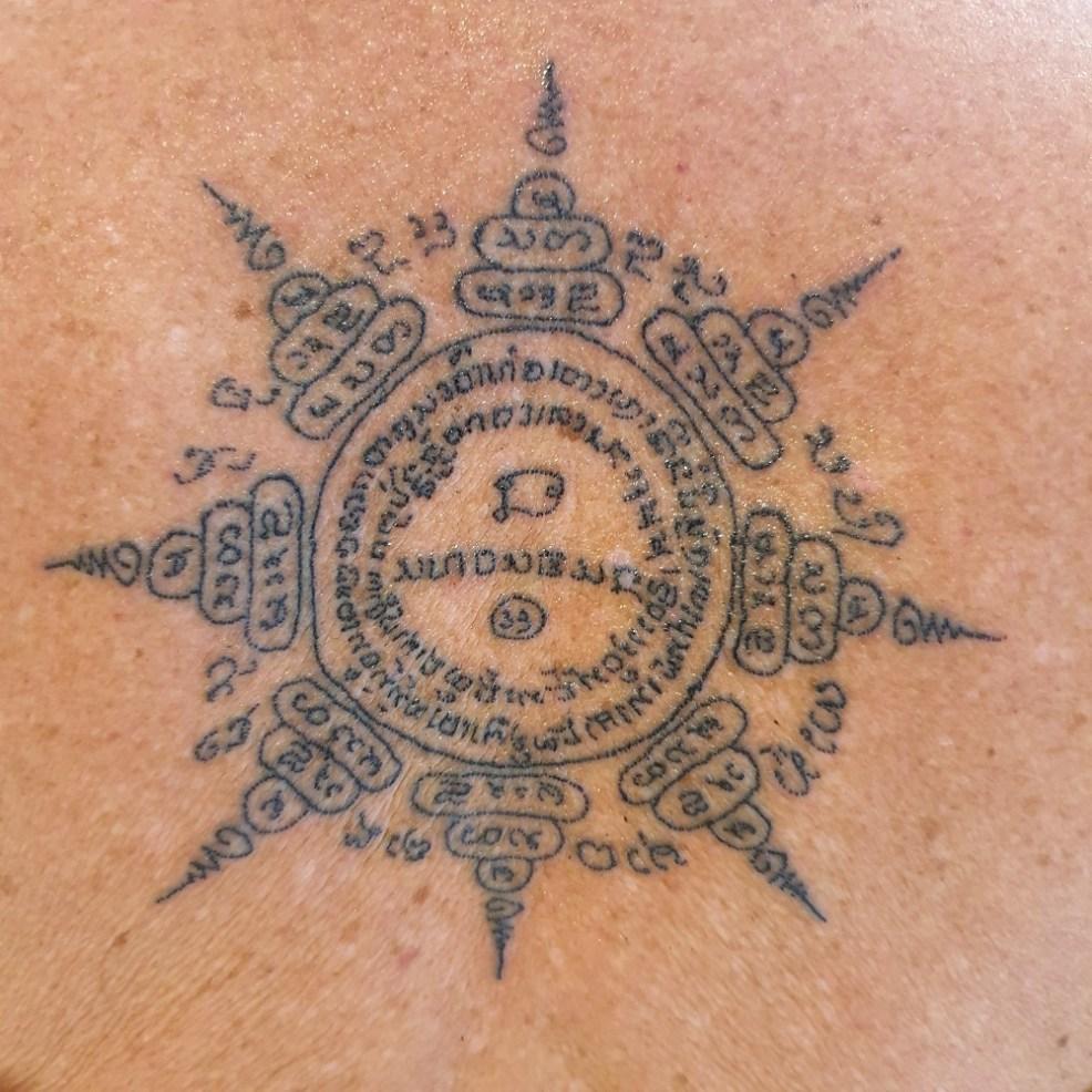 Sak Yant Tattoo In Thailand Gadsventure Family Travel