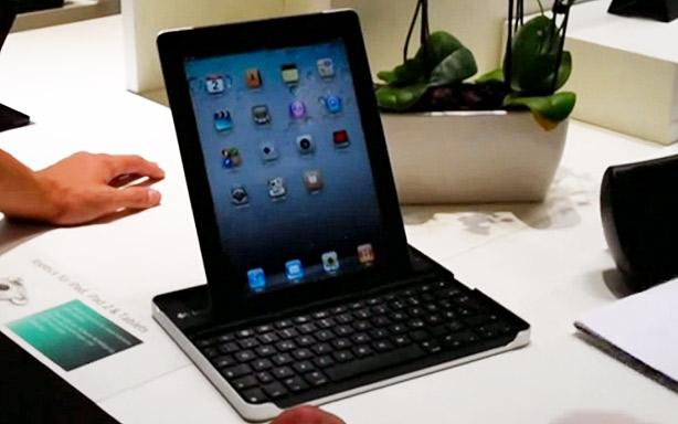 Teclado funda para iPad