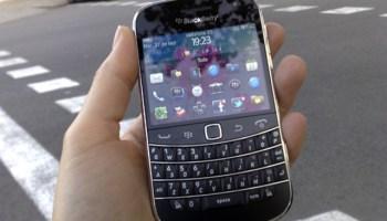 La nueva BlackBerry Bold 9900