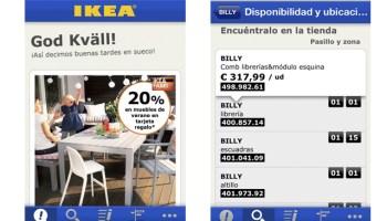 App para móviles de Ikea
