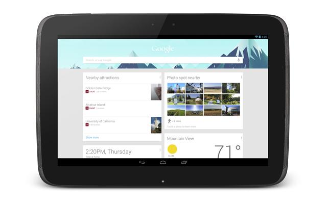 Google presenta su tableta Nexus 10
